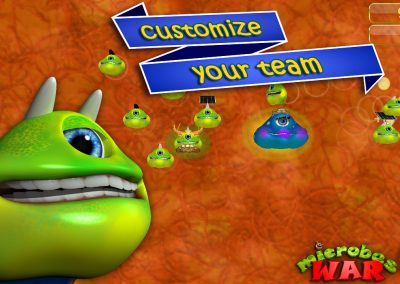 Microbes War Simiyaworld mobile games