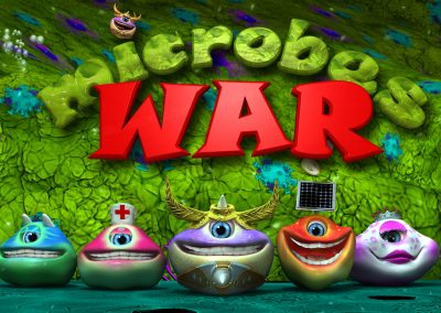 Microbes War simiyaworld mobile games